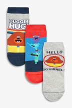 Hey Duggee Socks Three Pack (Younger)