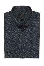 Regular Fit Single Cuff Floral Printed Signature Shirt