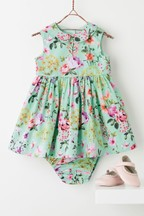 Prom Dress And Knickers Set (0mths-2yrs)