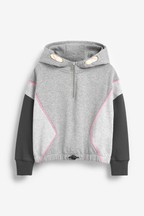 Colourblock Half Zip Hoody (3-16yrs)