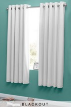 Micro-Fresh Plain Dye Blackout Curtains