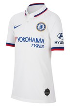 Nike Youth White Chelsea Football Club 2019/2020 Away Jersey
