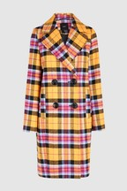Bright Check Coat
