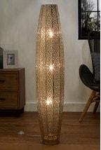 Large Oriana 3 Light Floor Lamp