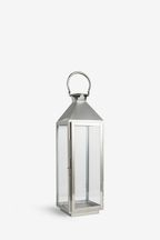 Large Chrome Lantern