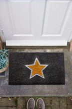 Chic Glittery Star Doormat