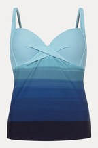 Phase Eight Natural Ombre Tankini Top