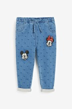 Minnie Mouse™ & Mickey Mouse™ Embellished Jeans (3mths-7yrs)
