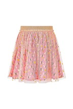 Monsoon Children Pink Buzz Bee Foil Mesh Skirt
