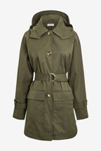 Short Belted Trench Coat