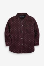 Long Sleeve Dotty Cord Shirt (3mths-7yrs)