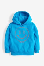 Blue Smiley Face Hoody (3-16yrs)