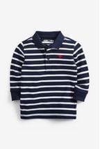 Long Sleeve Stripe Polo (3mths-7yrs)