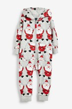 Santa All Over Print All-In-One (3mths-7yrs)