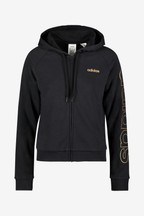 adidas Black Essential Zip Through Hoody