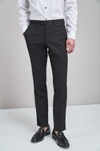 Slim Fit Tollegno Signature Tuxedo Suit: Trousers