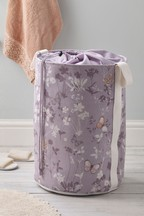 Butterfly Print Laundry Bag