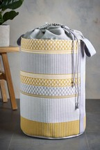 Mini Geo Stripe Laundry Bag