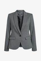 Single Breasted Tailored Fit Jacket