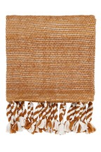 Helena Springfield Abu Knitted Tassel Throw