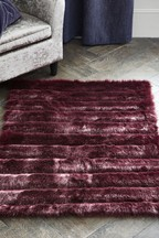 Cut Faux Fur Rug