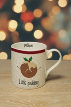 Personalised Little Pudding Mug by Signature PG