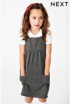 Jersey Pinafore Dress (3-14yrs)