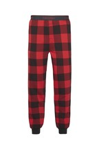 Calvin Klein Red Buffalo Check Sweatpants