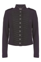 Mint Velvet Black Drummer Boy Jacket