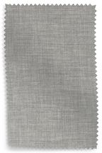 Simple Contemporary Silver Upholstery Fabric Sample