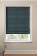 Made To Measure Juniper Soft Velour Roman Blind
