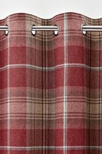 Stirling Check Curtains Sample