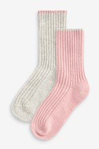 Socks With Cashmere Two Pack