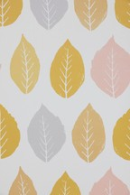 Paste The Paper Simple Life Leaf Wallpaper Sample