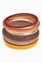 Resin/Wooden Bangle Set
