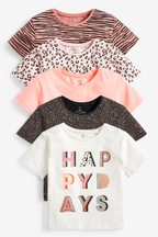 5 Pack T-Shirts (3mths-8yrs)