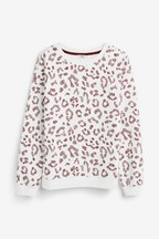 Animal Print Sweat Top