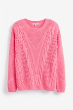 Stitch Cable Jumper