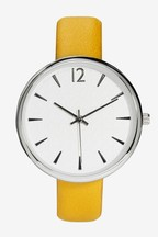 Embossed Dial Watch