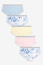 5 Pack Animal Print Hipster Briefs (2-16yrs)