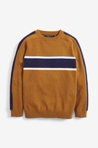 Chest Stripe Jumper (3-16yrs)