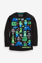 Long Sleeve Minecraft™ T-Shirt (4-14yrs)
