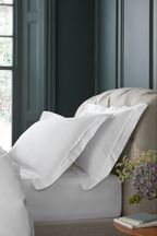 Set of 2 1000 Thread Count Cotton Sateen Collection Luxe Pillowcases
