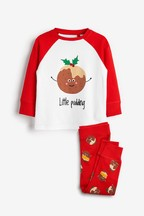 Kids Matching Family Pudding Pyjamas (0mths-8yrs)