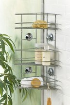 Suction 3 Tier Bathroom Shower Shelves