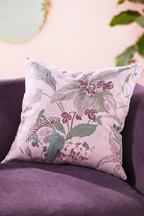 Eva Velvet Floral Cushion