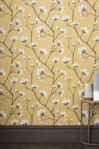 Paste The Paper Graphic Floral Wallpaper