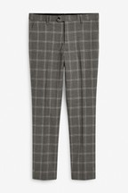 Wide Lapel Check Suit: Trousers