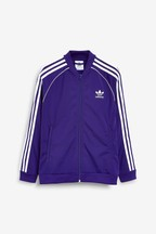 adidas Originals Purple Superstar Track Top