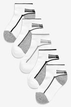 5 Pack Sports Trainer Socks (Older)